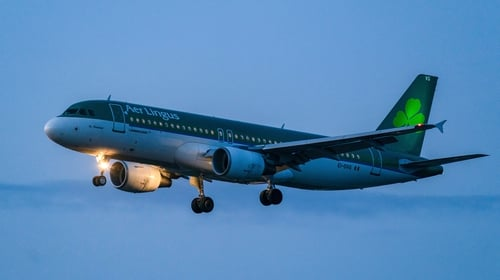 Aer Lingus issued the update to staff
