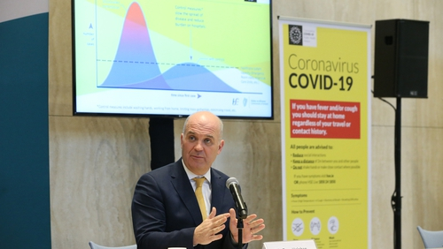 There have also been 191 new cases of Covid-19 confirmed in Ireland, bringing the total in the country to 557 (Pic: RollingNews.ie)