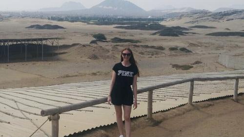 Jessica Powell got caught up in Peru's Covid-19 lockdown