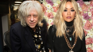 Bob Geldof and Rita Ora