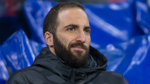 Gonzalo Higuain has reportedly tested positive for Covid-19