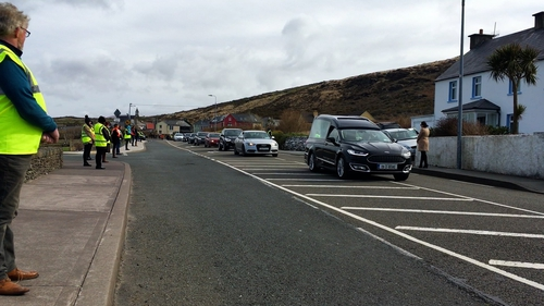 """""""In recent weeks, we have seen communities doing their best to acknowledge the passing of one of their own, with socially distanced crowds lining the roads to see the funeral procession."""""""