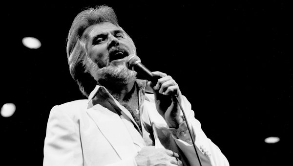 Kenny Rogers was a three-time Grammy winner