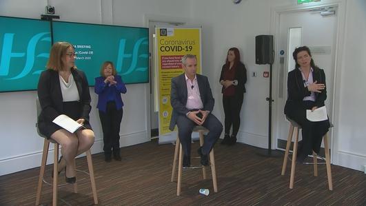 HSE CEO Paul Reid on Covid-19 preparations