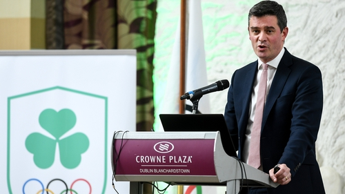 Olympic Federation of Ireland CEO Peter Sherrard