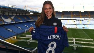 Melanie Leupolz has joined Chelsea