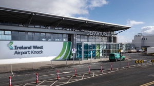 Ireland West Airport-Knock saw passenger numbers plummet by 90% during the busy summer period due to the pandemic
