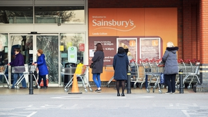 Sainsbury's said its underlying retail sales soared 8.2% year-on-year in its first quarter to June 27