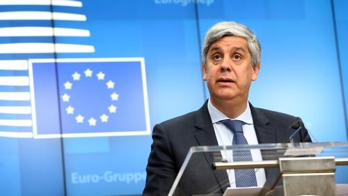 President of the Eurogroup Mario Centeno