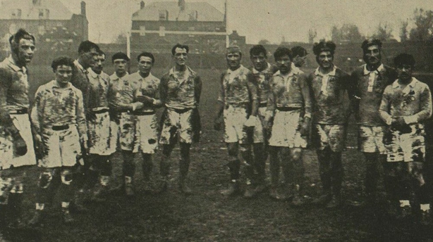 -French team  covered in mud 10 April 1920 ILN