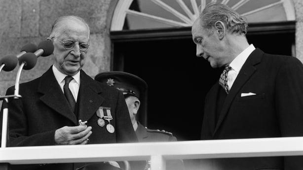 Éamon de Valera and Jack Lynch