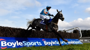 Bachasson and Paul Townend clear the final fence at Clonmel