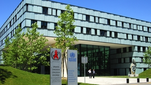 Headquarters of the World Health Organization, Geneva, Switzerland.
