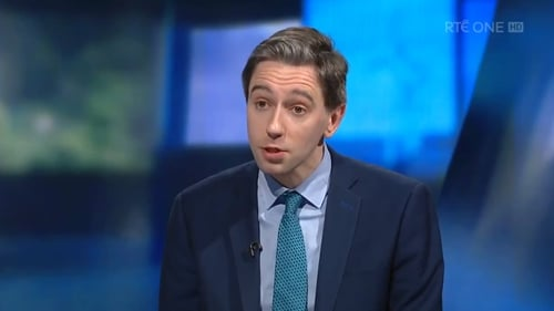Health Minister Simon Harris is awaiting regulations from the Attorney General