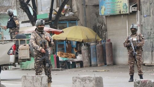 The attack happened at a temple for Afghanistan's Hindu and Sikh minority in Kabul