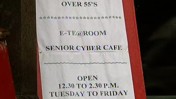 Cyber Cafe for the over 55s
