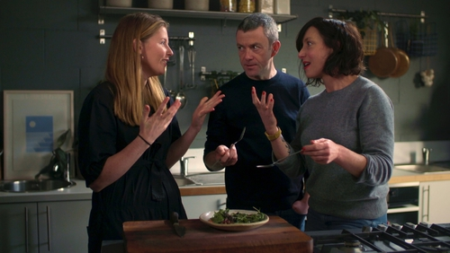 On Grow Cook Eat, the team whips up Asian Greens with a Miso Tahini Dressing and Maple Pecans.