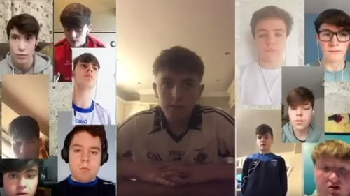 Students from St Macartan's College recorded a virtual version of 'One Day More'