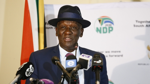 South African Minister of Police Bheki Cele