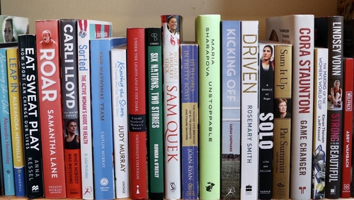 The choice of books on women's sports is thankfully becoming much wider