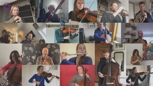 19 musicians recorded their individual parts on their respective instruments to a click track