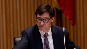 Health Minister Salvador Illa