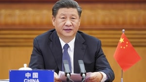 China's President Xi Jinping said the global recovery from the pandemic is 'rather shaky' and the outlook remains uncertain