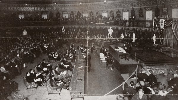 The foundation of an alternative legal system by the first Dáil played a key role in the setting up of a counter-state