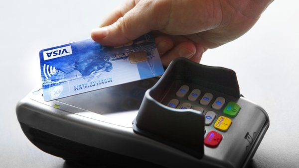 The number of contactless payments rose by 36% on a yearly basis in the third quarter, new figures show