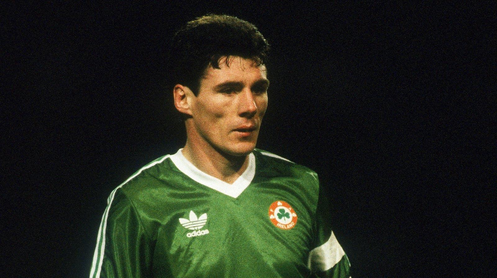 Image - Frank Stapleton as captain in February 1987