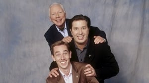Gay Byrne, Gerry Ryan and Ryan Tubridy on an RTE Guide photoshoot
