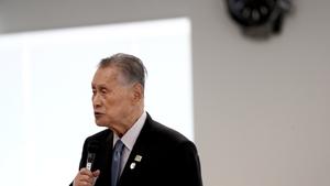 Tokyo 2020 president Yoshiro Mori