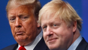 Donald Trump and Boris Johnson have been criticised for their handling of the coronavirus pandemic