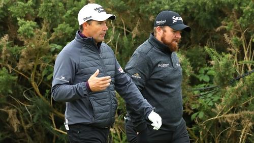 Padraig Harrington and Shane Lowry