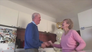Anthony Killeen shares a jive with his wife for their 50th wedding anniversary