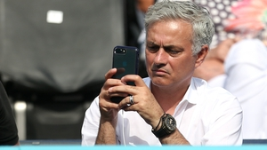 Jose Mourinho will monitor his players' training from afar