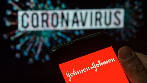 Johnson and Johnson said it had started work on a vaccine in January, and is aiming to start testing on people by September