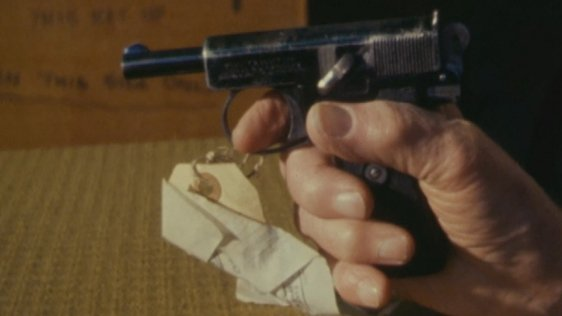 Webley & Scott Pistol donated to the National Museum of Ireland (1980)