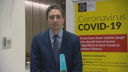 3,235 confirmed cases of coronavirus in Ireland