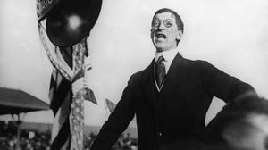 De Valera in California