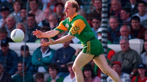 Martin O'Connell during the GAA All-Ireland Senior Football Championship Final between Meath and Mayo in 1996