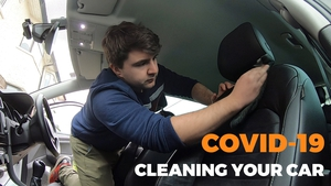 Carl Mullan's shows us how to keep our cars thoroughly clean in the time of coronavirus.