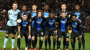 Club Brugge, pictured in the pre-social distancing era