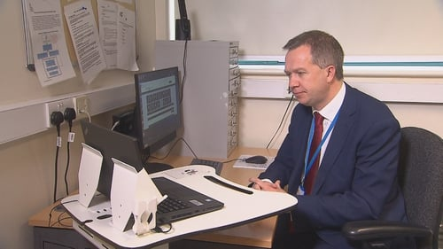 Professor Derek O'Keeffe said videoconferencing is vital to manage ongoing medical conditions