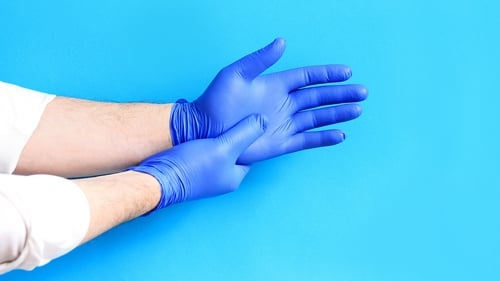"""The World Health Organisation does not recommend the use of gloves as a means of preventing Covid-19 illness and the HSE advises against wearing disposable gloves instead of washing hands"""