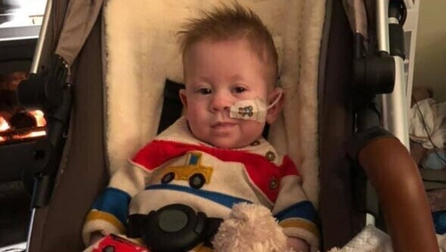 Riley Patterson is recovering and doing well.