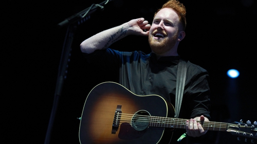 Gavin James is on tonight's Late Late Show