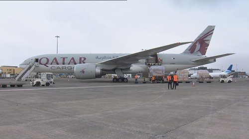 Qatar Airways only resumed its cargo operations to China this week