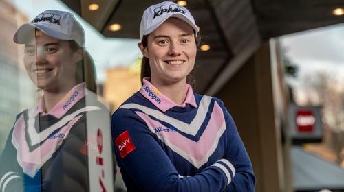 Irish professional golfer and Davy brand ambassador Leona Maguire