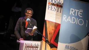 Lemn Sissay reads at Sunday Miscellany Live at the Ennis Book Club Festival. Photo: Eamon Ward